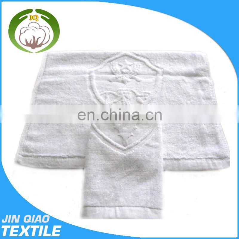 Factory jacquard cotton and polyester hotel pool towel