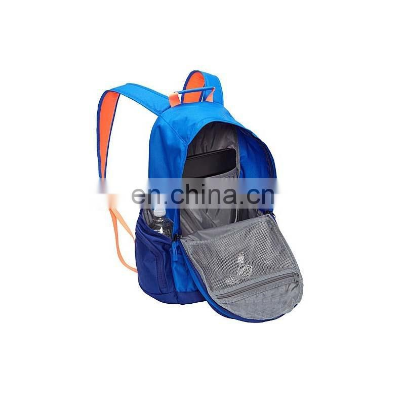 Color customized polyester young sports bag