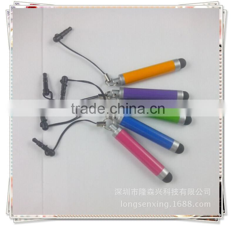 TTO-0601 short bud touch pen for galaxy s4 , smartphone touch pen stylus