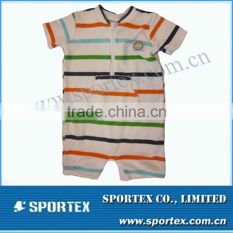 2012 new design high class baby romper