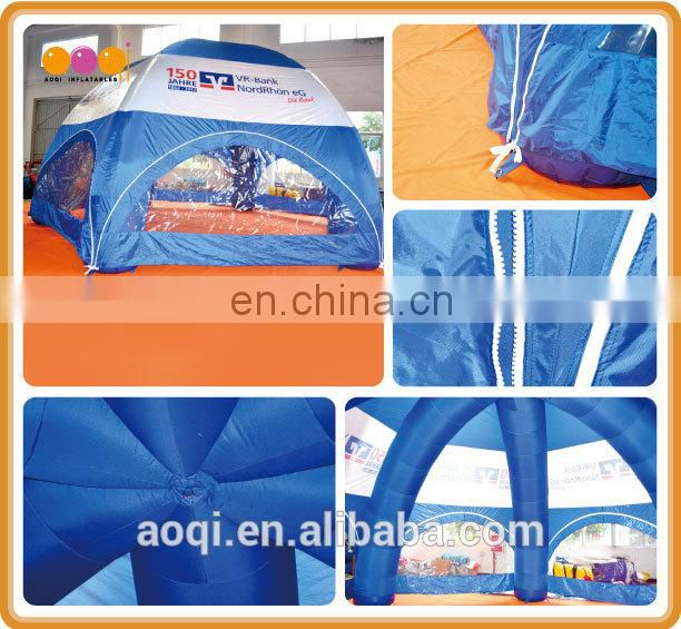 2015 AOQI advertising inflatable beach tent/dome tent for sale