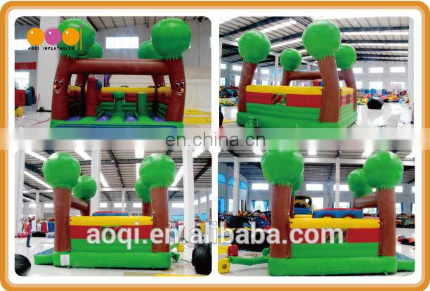 AOQI new design tree man theme inflatable bounce jumper for kids for sale