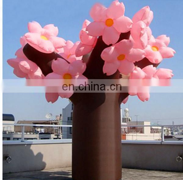 Beautiful inflatable cherry tree/decorative inflatable cherry blossom trees
