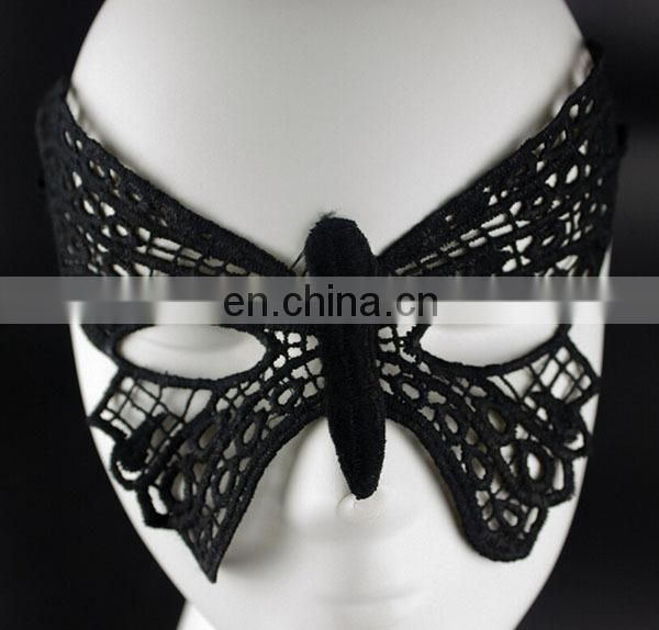 New Fashion Cutout Mask Lace Veil Sexy Prom Party Halloween Masquerade Dance Mask
