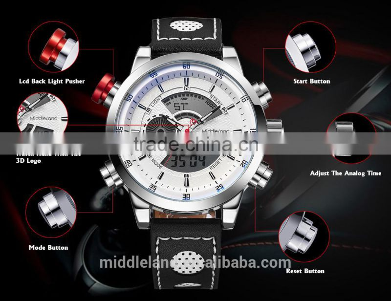 HOT!Business fashion watch for man as promotion gift all the world from factory support