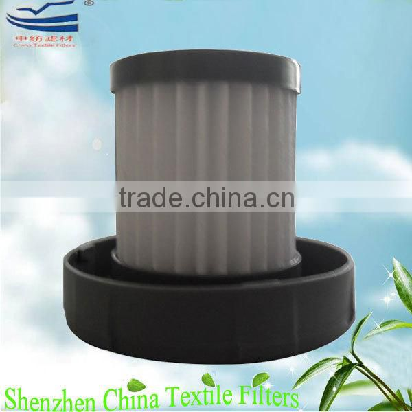 Vacuum cleaner parts washable HEPA filter