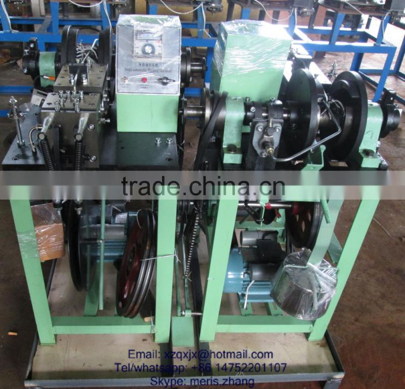 shoelace tipping machine hand paper bag lace tipping machine rope end machine