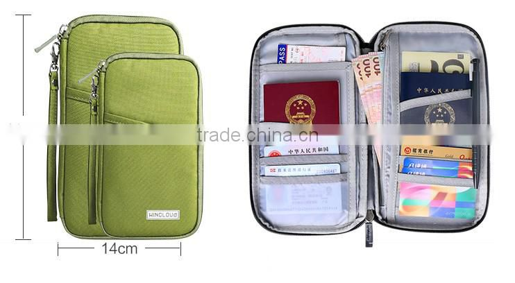 multi function waterproof passport holder documents package travel ticket package