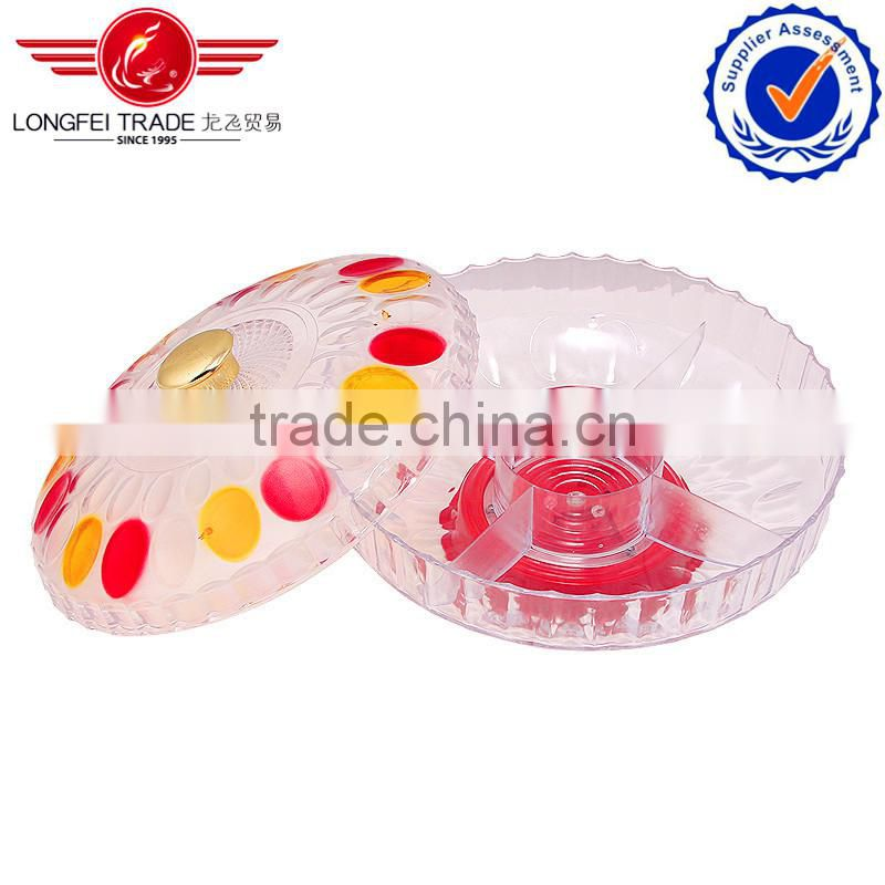 2014 best products colorful glass fruit bowl