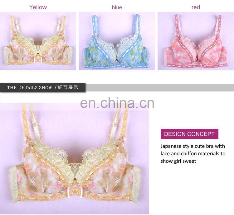 Spandex Beautiful Sexy Design Bra Factory in China