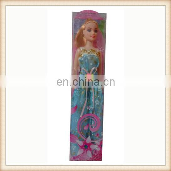 "11"" plastic toy modern girl doll"