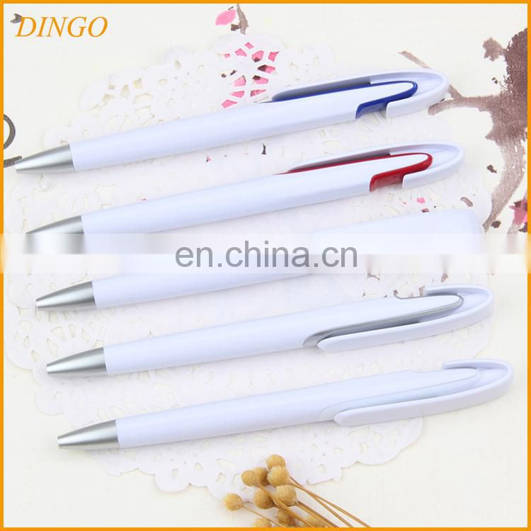 Retractable Pens, Cheap Promotional Custom Plastic Pen Clip with Logo
