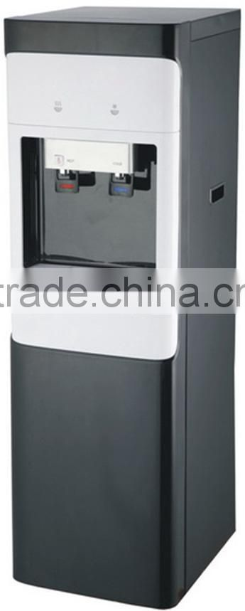 floor standing hot and cold POU water dispenser with RO system