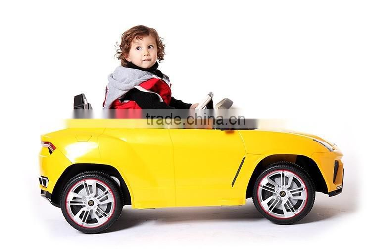 Kids car with remote control, 12V battery 1 seat ride on car toy for children