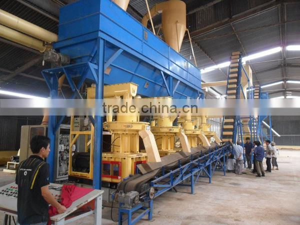 2014 CE Certificated complete wood pellet machine/wood pellet mill/wood pellet production line