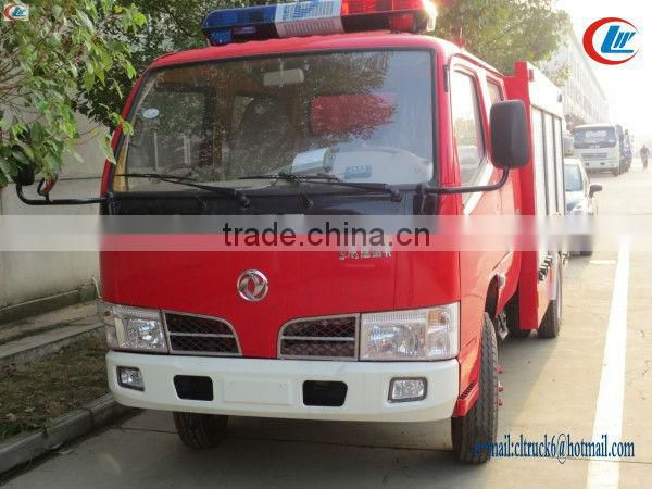 Dongfeng 4x2 2ton-3ton Water Tanker Fire Fighting Truck