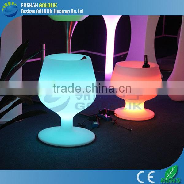 Events Furniture LED Flashing Ice Bucket for Parties