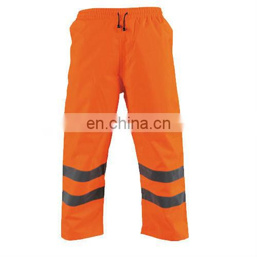 hi vis reflective safety rain pants manufacturer