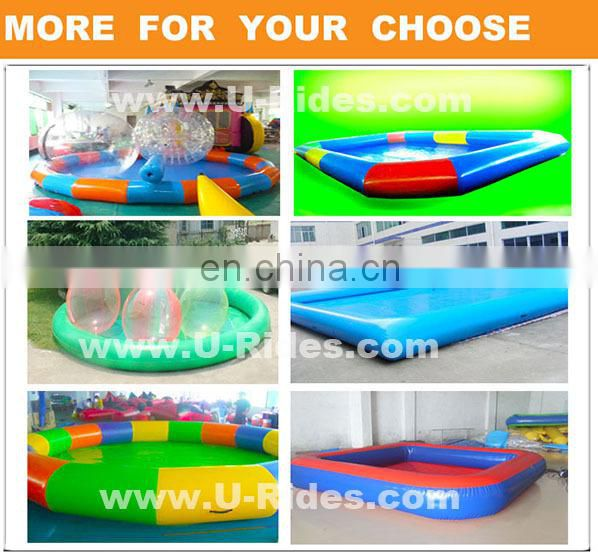 funny inflatable pool for children playing ball