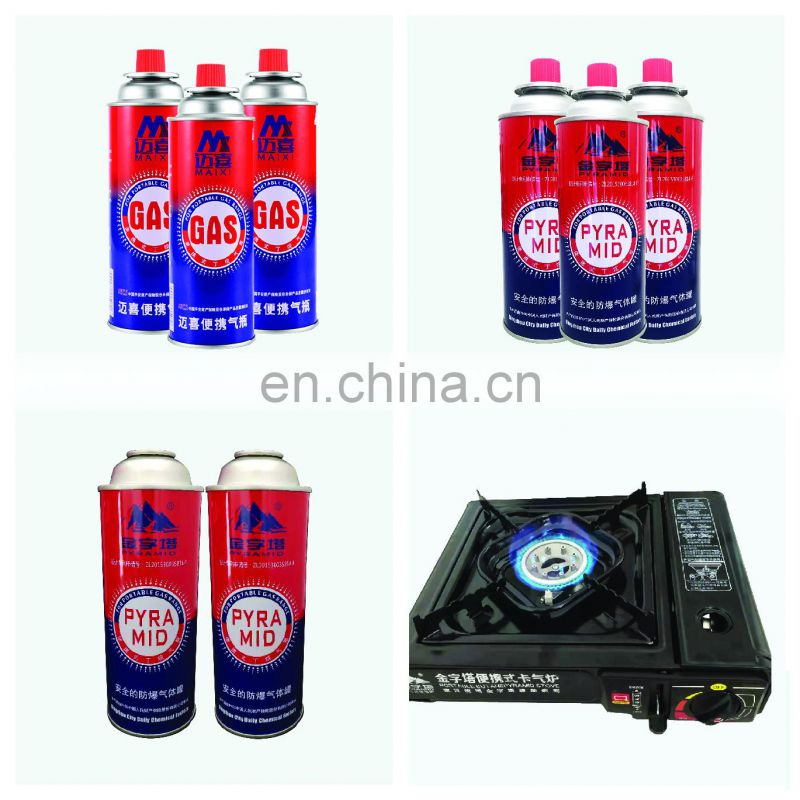 China butane gas cartridge aerosol valve and gas grill bbq valve