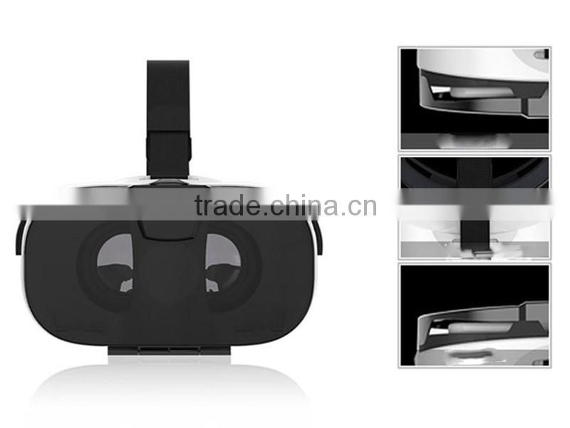 VR FIIT 3D Glasses Real Virtual VR 3D Glasses ABS Virtual Real Glasses 3D Movies/World Wholesale