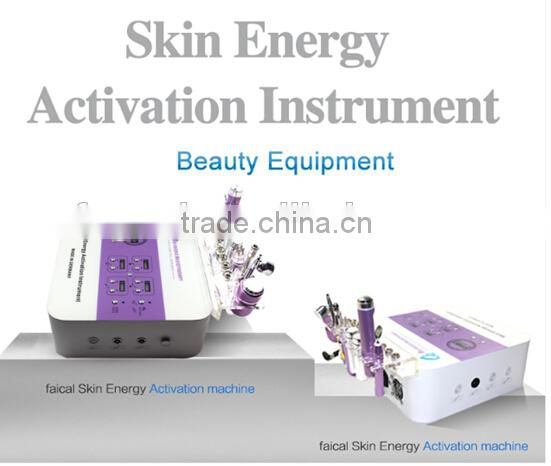 2015 skin energy activation instrument diamond microdermabrasion and oxygen spray machine for sale