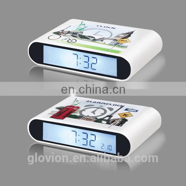 Small alarm clock glovion vibrating kids alarm clock mini alarm clock