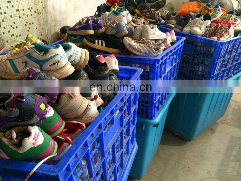 high quality second hand clothes men shoes