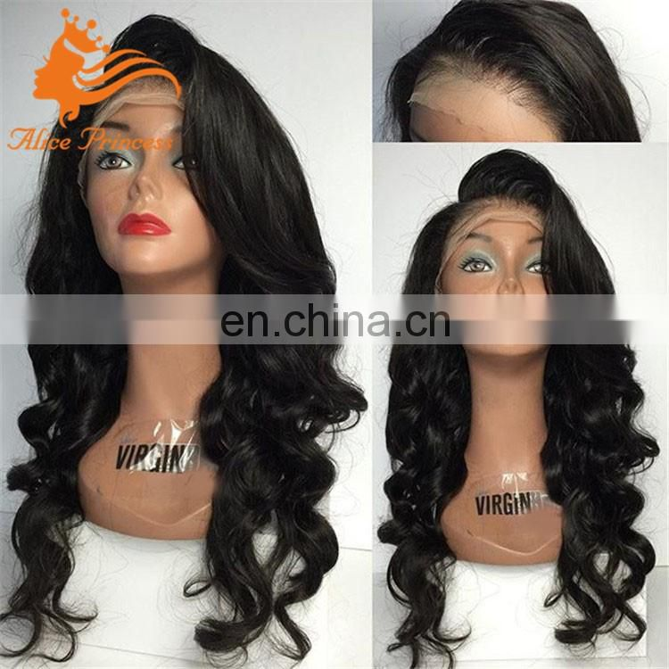 Wholesale human hair wigs for black women factory hair front lace wigs for women hair wig With Natural Hairline