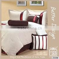 4pcs Twin or Full or Queen or King 100% Polyester Printed Microfibre Bed Sheet Bedding Set