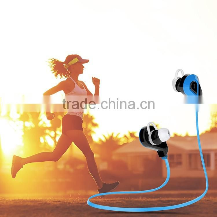 2016 Fashion in-ear stereo bluetooth headset, bluetooth earphone for sport