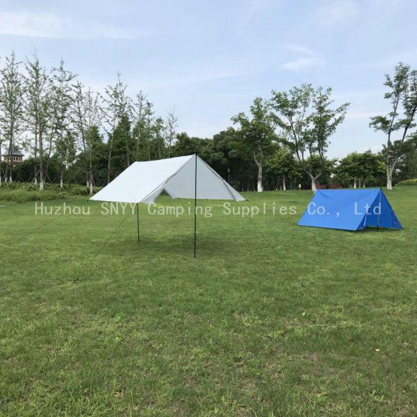 Rope+Peg+Bag Canopy Hammock Rain Tarp Shelter Outdoor Camping Ripstop Rain Fly