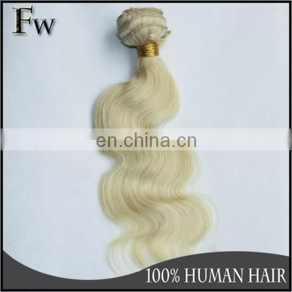 Russian blonde hair extension 613 blonde hair weave