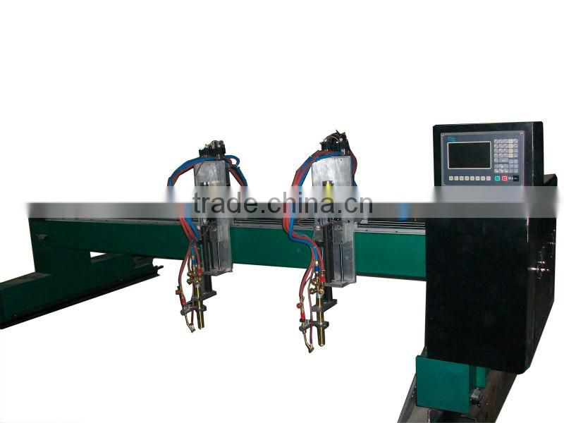 Equipped with automatic ignition, backfire prevention device, it is stable and secure flame and plasma cutting machine