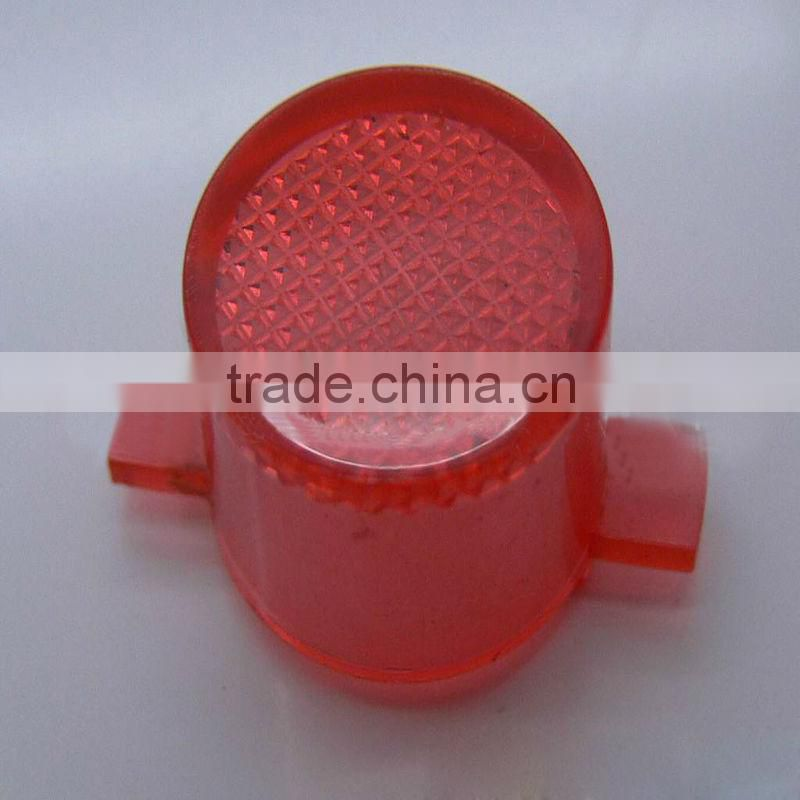 experienced transparent red plastic injection molded parts supplier