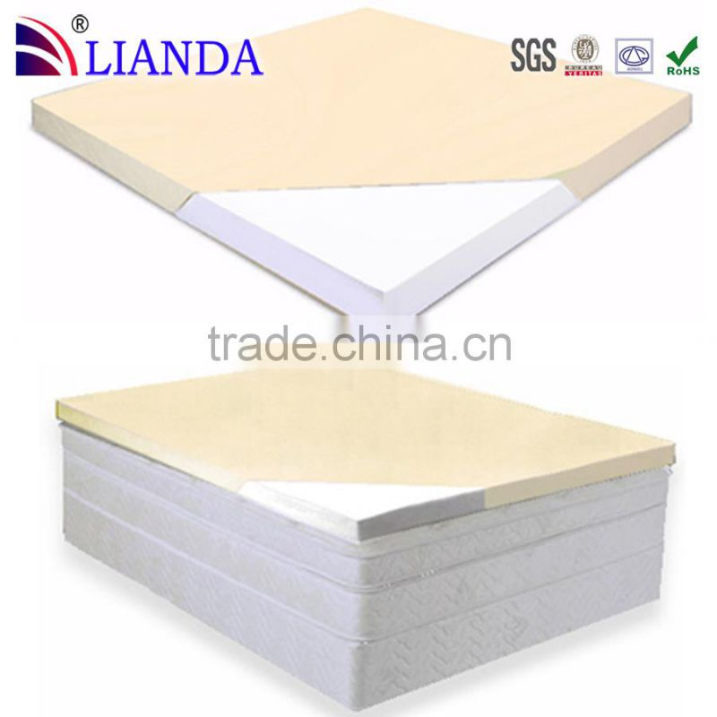 Single, double, queen and king size memory foam mattress topper