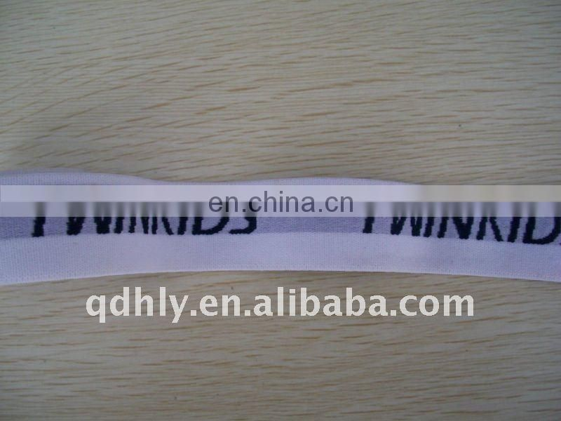 High quality elastic waistband with Jacquard