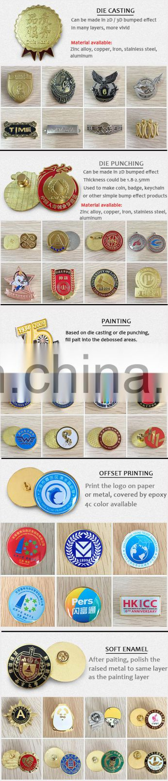 Factory Direct Supply Can Be Customized Metal Commemorative Plates
