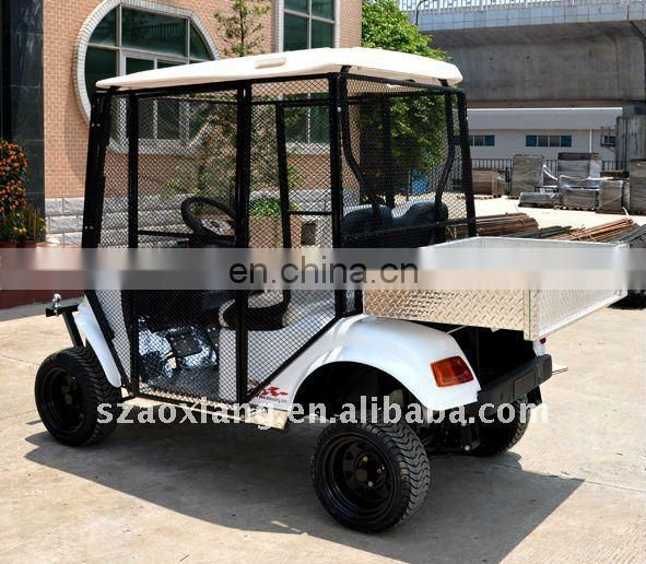 Hot-selling Golfcart, Ball Collect Electric Golfcart with Wire Protective AX-C2-B