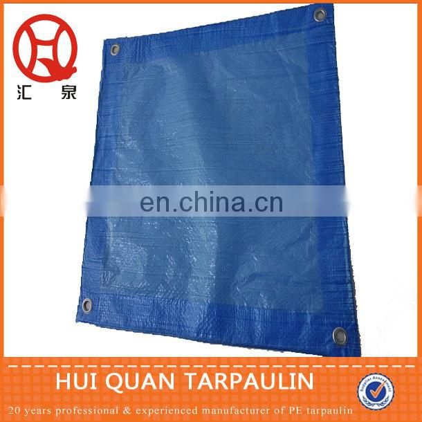 HDPE woven and LDPE laminated tarpaulin tent cover