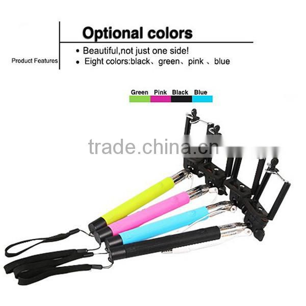 Wired Selfie Stick From Chinese Supplier, Wholesale Selfie Stick , Monopod Selfie Stick With High Quality