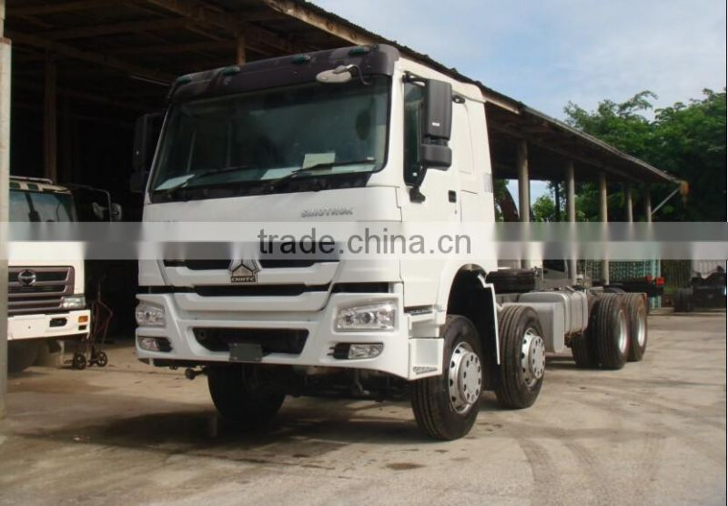 2016 howo 8x4 cargo truck chassis Diesel 336hp 371hp