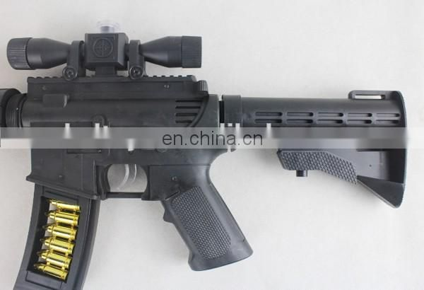 High quality plastic imitation sniper rifle toy gun with shake,music and light