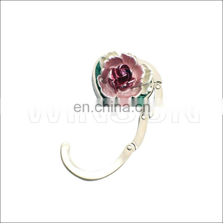Sunflower Metal Bag Holder/Handbag Hook with custom logo