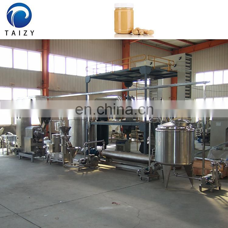 CE approved complete peanut butter production line making machine