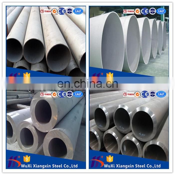 tube ASTM A554 Seamless stainless steel pipe 304 mirror Finish