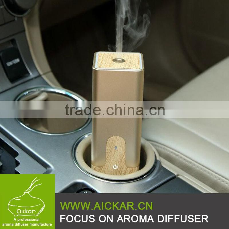 2016 New Car Fragrance Essential Oil Ultrasonic Aroma Diffuser Air Fresher Easy to Carry