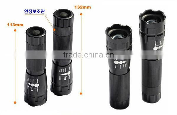 Goread CMTJ high bright focusable Q5 rechargeable small LED torch
