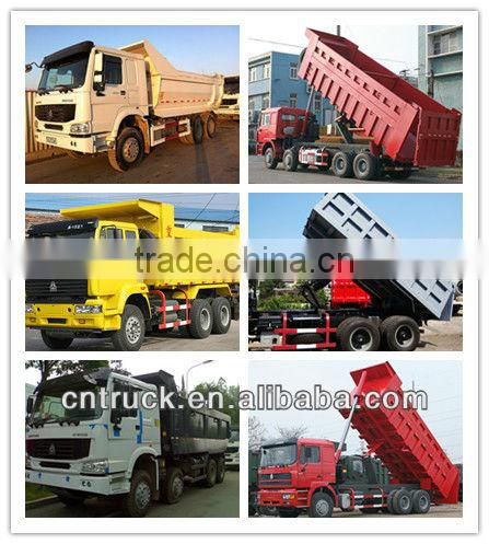 Loading 25-30 tons 6*4 truck from China