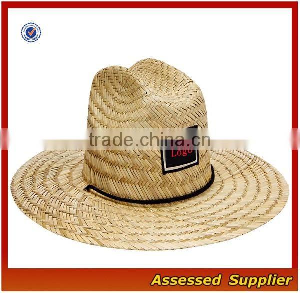 cf796d039 Australia Men Straw Lifeguard Hat With Adjustable String/Summer UV ...